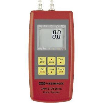 Greisinger GMH3161-07B manómetro de pressão, o gás não corrosivo, gás corrosivo-0.01 - 0,42 bar