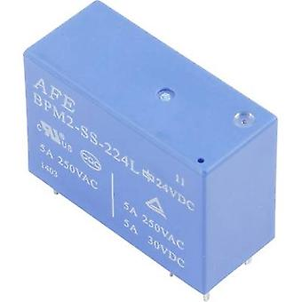 AFE BPM2-SS-212LM PCB relay 12 V DC 5 A 2 makers 1 pc(s)