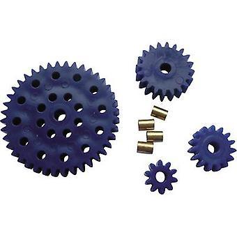Material de treinamento Reely Workplace - Cogwheel set Module Tipo 1.0 Furo diâmetro 3.9 mm