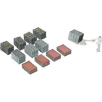 MBZ 80192 H0 Palettenbeladung, Mauersteine Laser-cut assembly kit