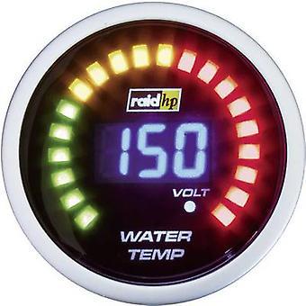 raid hp Water Temperature Gauge 40 to 150 °C 12V