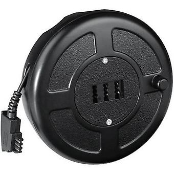 Hama Phone Cable reel [1x TAE-F plug - 1x TAE-NFN socket] 15.00 m Black