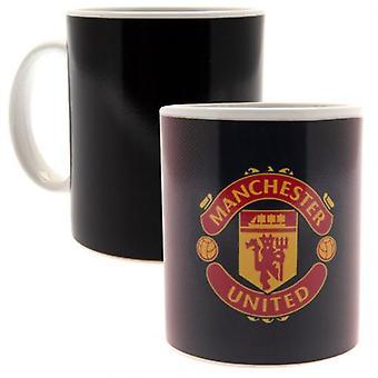 Manchester United Heat Changing Mug GR