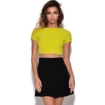 RARE Colour Block A Line Dress