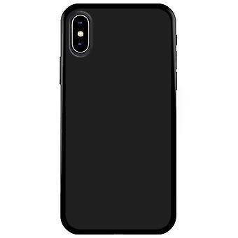 Mjukt TPU Skal iPhone Xs Max Matt Svart