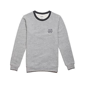 Rhythm Leon Sweatshirt in Vintage Grey