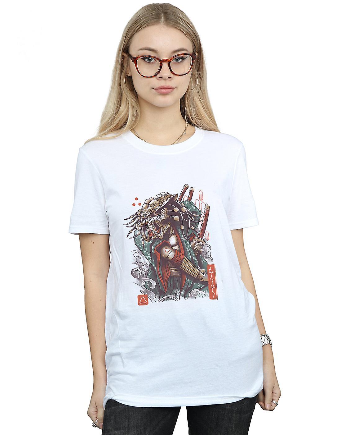 Vincent Trinidad Women's Samurai Predator Boyfriend Fit T-Shirt