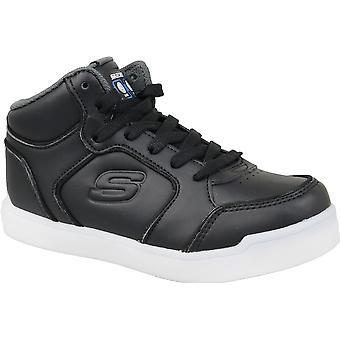 Zapatillas Skechers energía luces L 90622-BLK niños
