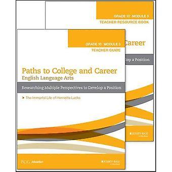 Engelse taal kunsten, Grade 10 Module 3: Onderzoek naar meerdere perspectieven voor de ontwikkeling van een standpunt: leraar Set...