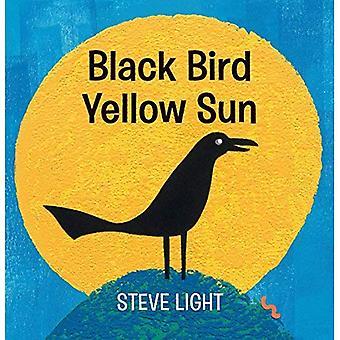Black Bird jaune soleil [cartonné]