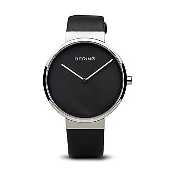 Bering analogique quartz mens watch avec cuir 14539-402