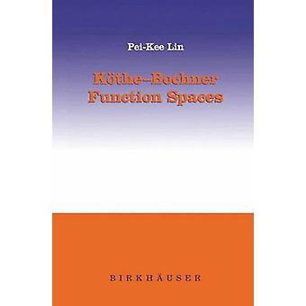 KtheBochner funktion rum af Lin & PeiKee