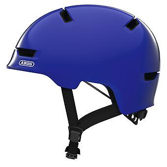 Abus scraper kid 3.0 bike helmet / / shiny blue