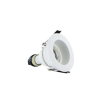 Integraal-LED brand rated downlight Spotlight verzonken witte GU10 houder mat wit-ILDLFR70E001