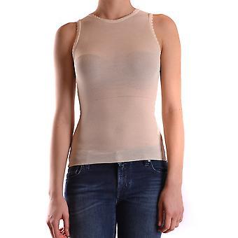Anna Molinari Ezbc246003 Women's White Viscose Top
