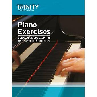 Piano Exercises by Trinity College London - 9780857364869 Book
