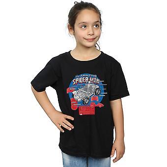Marvel Girls Spider-Man Spider-buggy Breakdown camiseta