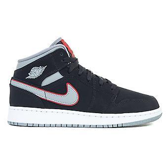 Nike Air Jordan 1 mid GS 554725060 Universal hele året barna sko