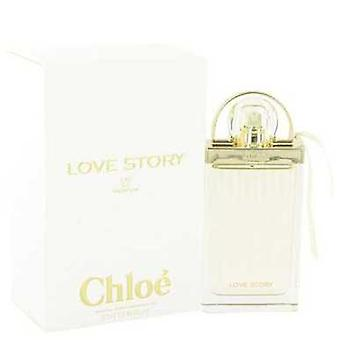 Chloe Love Story Von Chloe Eau De Parfum Spray 2.5 Oz (Frauen) V728-515960