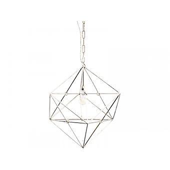Libra möbler geometrisk nickel hänge