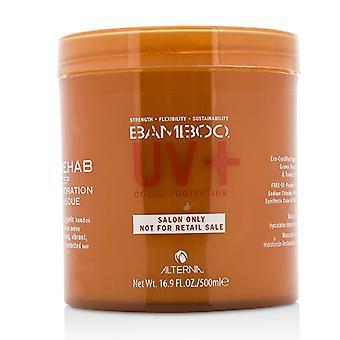 Λεπτό μπαμπού χρώματος Κρατήστε + προστασία χρώματος αποκατάσταση βαθιάς ενυδάτωσης Masque (για ισχυρά, ζωντανά, με προστασία του χρώματος μαλλιά) 500ml/16.9 oz