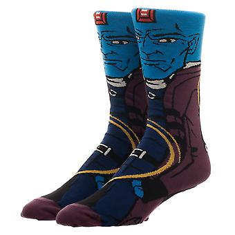 Crew Socks - Guardians of the Galaxy - Yondu 360 Character New Licensed cr6a3pggc
