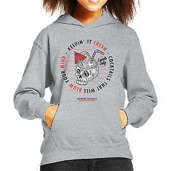Divide & Conquer Supreme Cocktails Kid's Hooded Sweatshirt