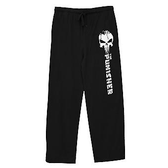 The Punisher Pantalones de Sueño Unisex Negro