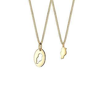 Elli silver damer hängsmycke halsband-0106161318_45