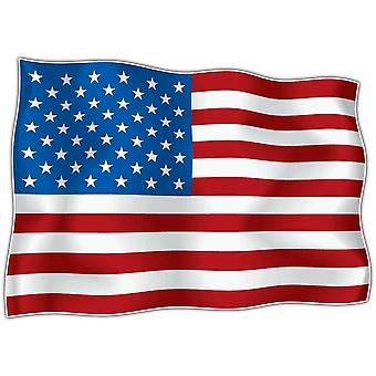 Sticker Sticker Flag USA Usain USA Motorcycle Adhesive Car