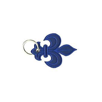 Cle Cles Key Brode Patch Ecusson Bandera Azul Rey Realista