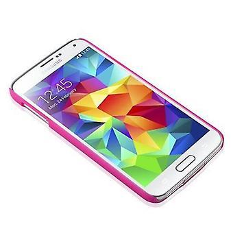 Samsung Galaxy S5 / S5 NEO kovakotelo vaaleanpunainen Cadorabo - kukka Paisley Henna Design suojakotelo - Puhelin tapauksessa Puskurin takakotelon kansi