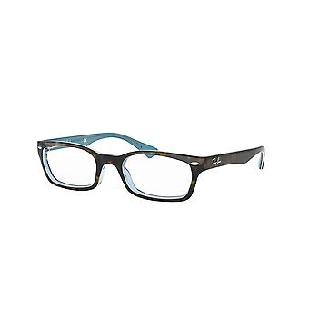 Ray-Ban RB5150 5023 Top Havana On TR Azure Glasses