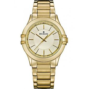 Delbana - Wristwatch - Ladies - Dress Collection - 42701.587.1.021 - Capri