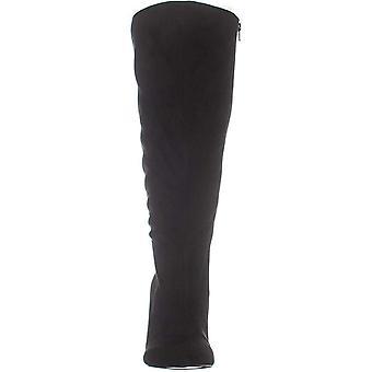 Thalia Sodi Womens Rajel Fabric Pointed Toe Knee High Fashion Boots