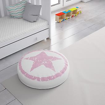 Meesoz Bodenkissen - Grunge Stars Pink