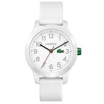 Lacoste 2030003 Children's 12.12 White Silicone Wristwatch