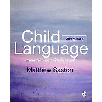 Child Language by Matthew Saxton
