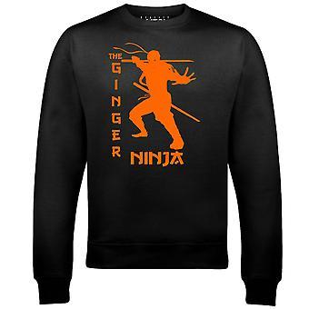 Sweat-shirt homme ninja de gingembre