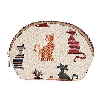 Brutal Cat cosmetische tas door signare tapijt/COSM-cheky