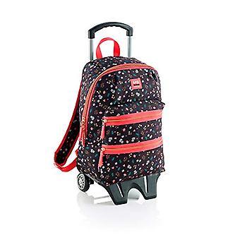 Miquelrius Sakura Casual Backpack - 42 cm - 2 liters - Black (Negro)