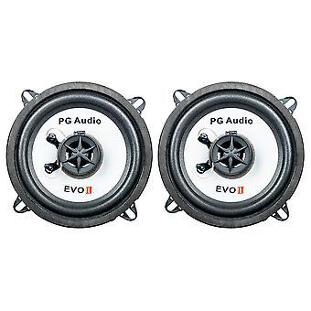 1 Paar PG Audio EVO II 13.2 , 13 cm Coaxial Auto Lautsprecher , Neu-Ware
