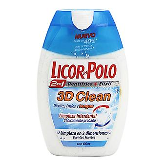 Toothpaste 3d Clean Licor Del Polo (75 ml)