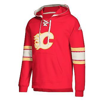 Adidas NHL Calgary Flames Pullover Jersey Hood