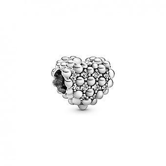 Charm Pandora 798681C01 -  coeur scintillant