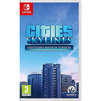 Cities Skylines Nintendo Switch Game (Release Date: 19-07-2019)