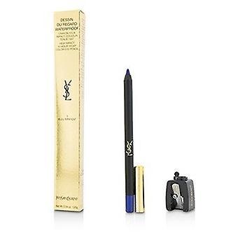 Yves Saint Laurent Dessin Du Regard Waterproof High Impact Color Eye Pencil - 3 Bleu Impatient 1.2g/0.04oz