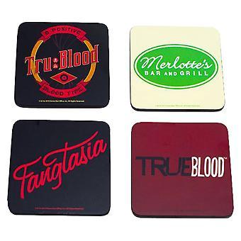 True Blood Coaster Set von 4 (Serie 1)