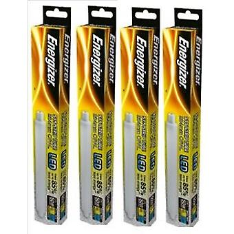 4 X Energizer LED Strip Energy Saving Lightbulb S15 5.5w = 50w 550lm Warm White[Energy Class A+]