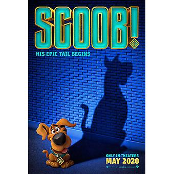 Scoob! Original Movie Poster Double Sided Advance Style